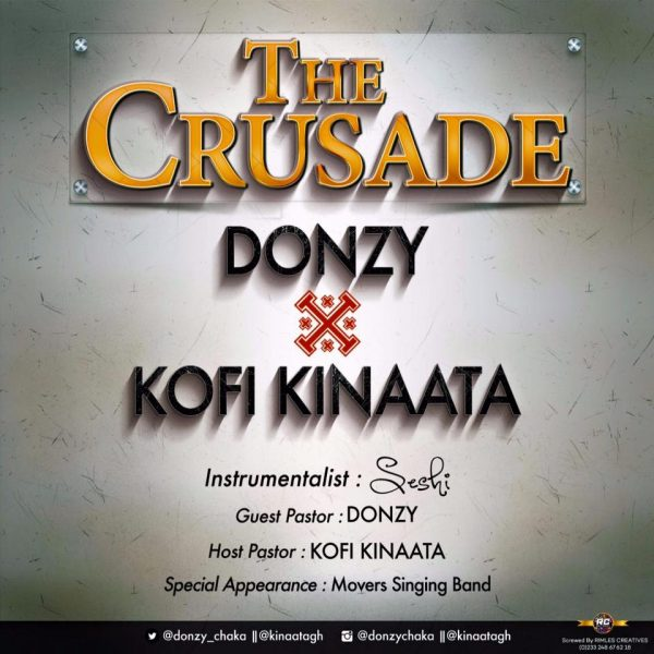 Donzy & Kofi Kinaata - The Crusade (Prod. by Seshi)