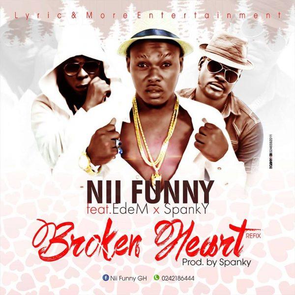 Nii Funny - Yooko Ebreaki Me (Broken Heart) (Feat. Spanky)