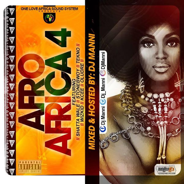 Dj Manni - Afro Afrika Vol.4