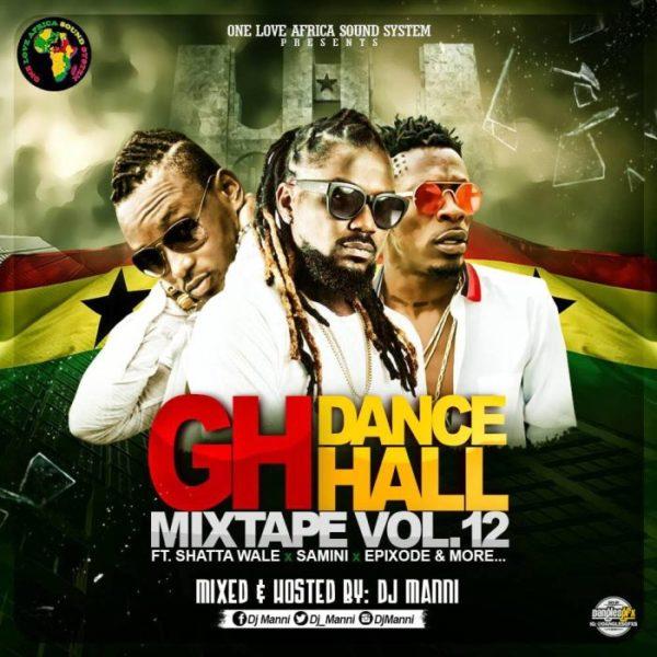 Dj Manni - Gh Dancehall Vol.12