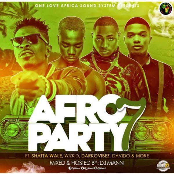 Dj Manni - Afro Party Vol. 7