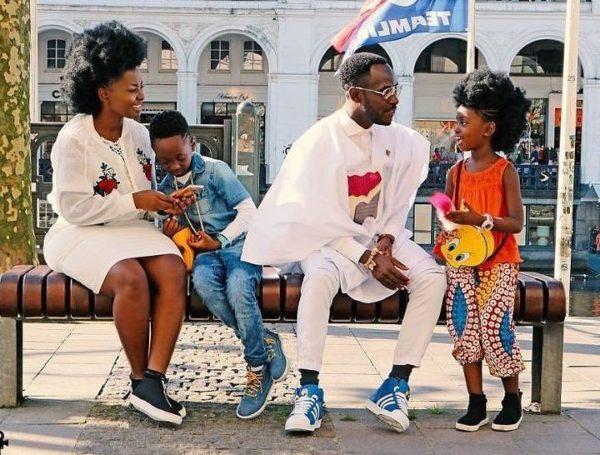 okyeame-kwame and family