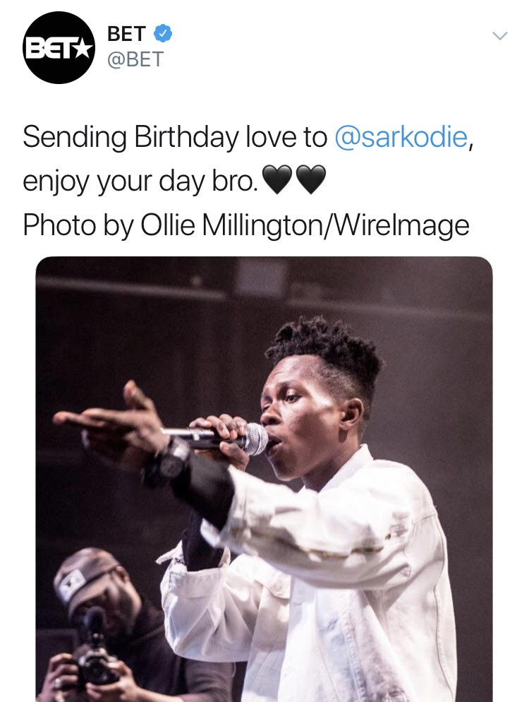 Strongman Has Been Mistaken For Sarkodie by BET