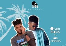Ogidi Brown - Favour Us (Feat Kofi Kinaata) (Prod. by Yaw Spoky)