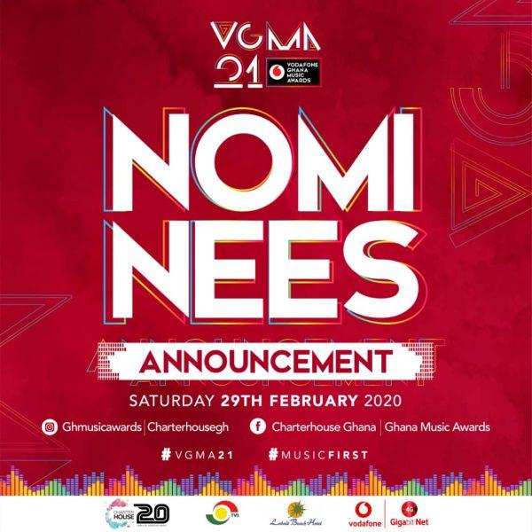 21st Vodafone Ghana Music Awards