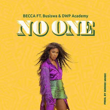Becca drops 'No one' featuring South Africa's Busiswa & DWP Academy