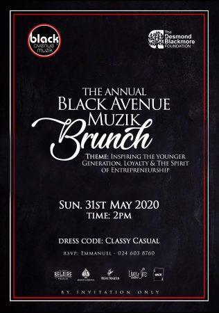 D-Black announces 1st Annual Black Avenue Muzik brunch slated for 31st May