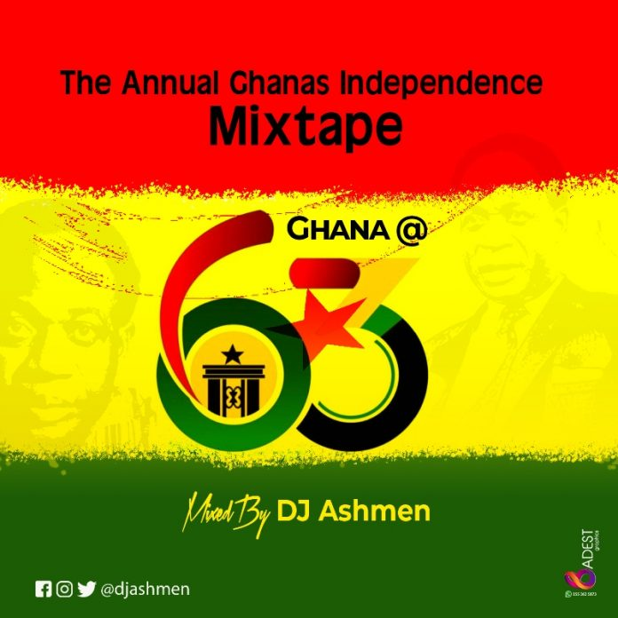 DJ Ashmen - Ghana At 63 Mixtape