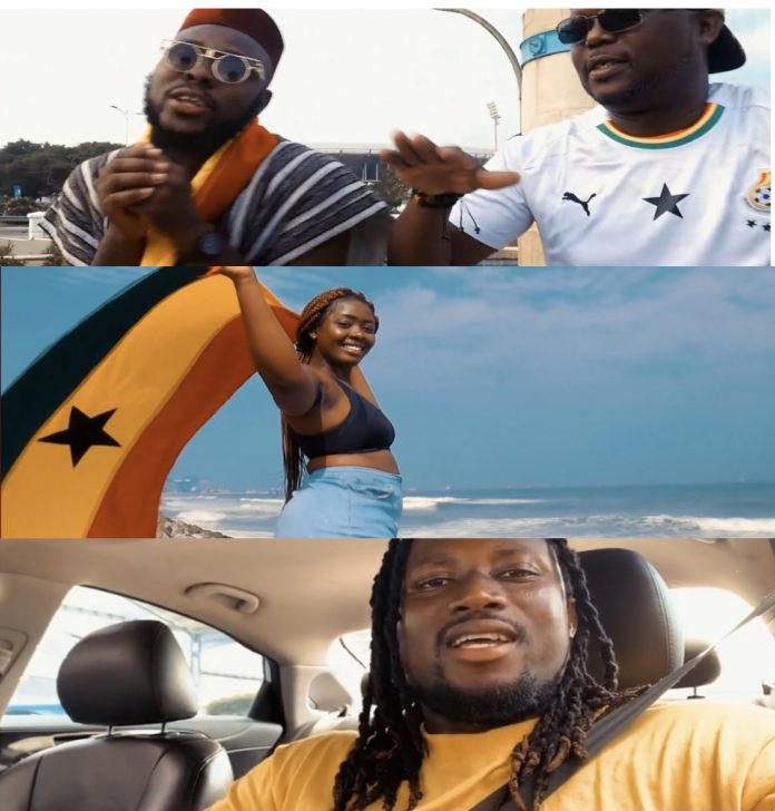 """Kwasi Tay drops new song """"GHANA"""" to celebrate Independence, features Dancehall Mantse - WATCH VIDEO"""