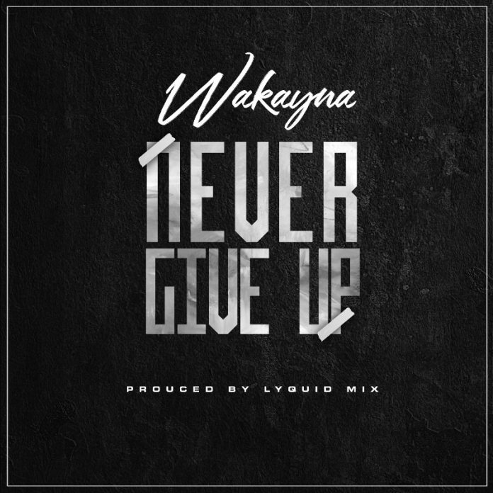 Wakayna – Never Give Up (Prod. By Lyquid Mix)