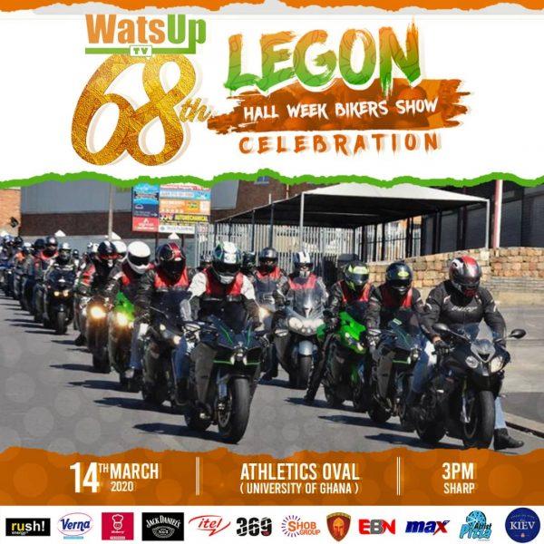 WatsUp TV 68th Legon Hall Week (Bikers)