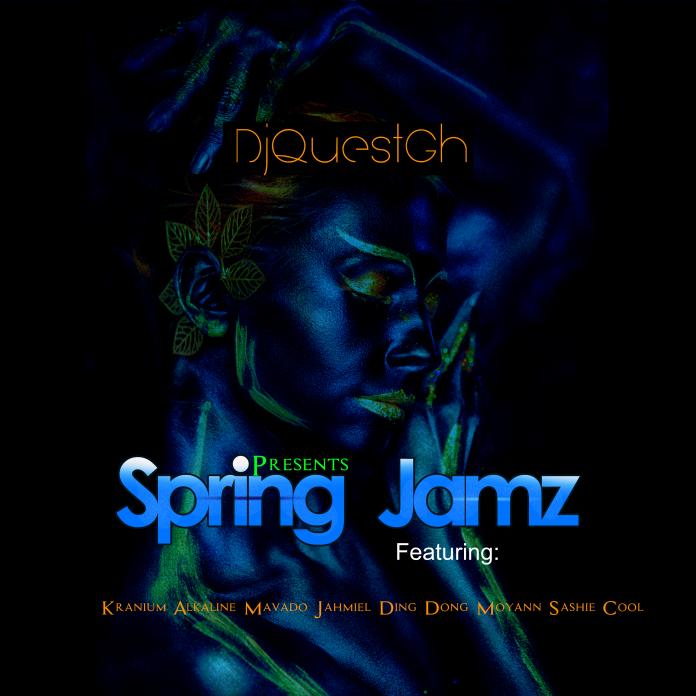 Spring Jamz features dancehall giants in DJ Quest's Mixtape