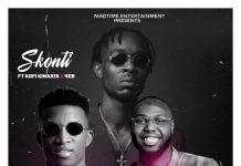 Skonti - Listen (Feat Kofi Kinaata & EB4) (GhanaNdwom.net)