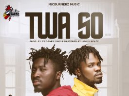 Amerado - Twa So (Feat. Fameye) (Prod by TwoBars) (GhanaNdwom.net)