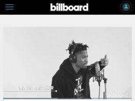 "Kwesi Arthur Represents Ghana In Billboard's ""Platoon Africa Artist Showcase""."