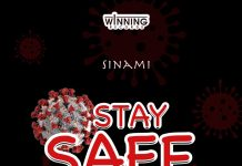 Sinami - Stay Safe (Feat. King Gahda x Team Winning) (Prod. by P.Y)