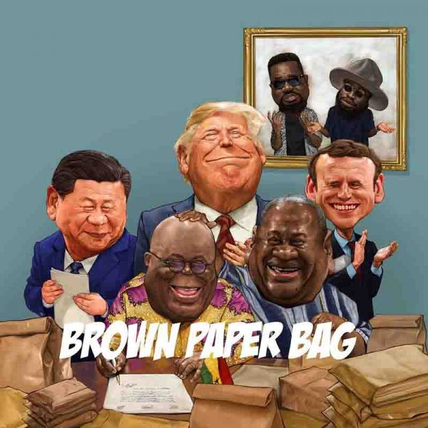 Sarkodie - Brown Paper Bag (Feat. Manifest) (Prod. by Nova)