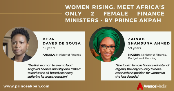 Women Rising - Meet Africa's Only 2 Female Finance Ministers