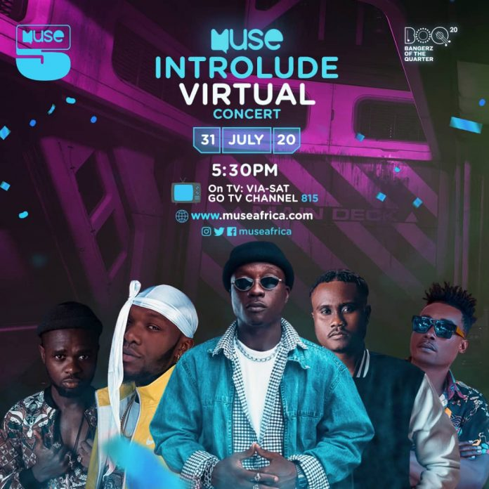 Muse Africa Introlude Virtual Concert