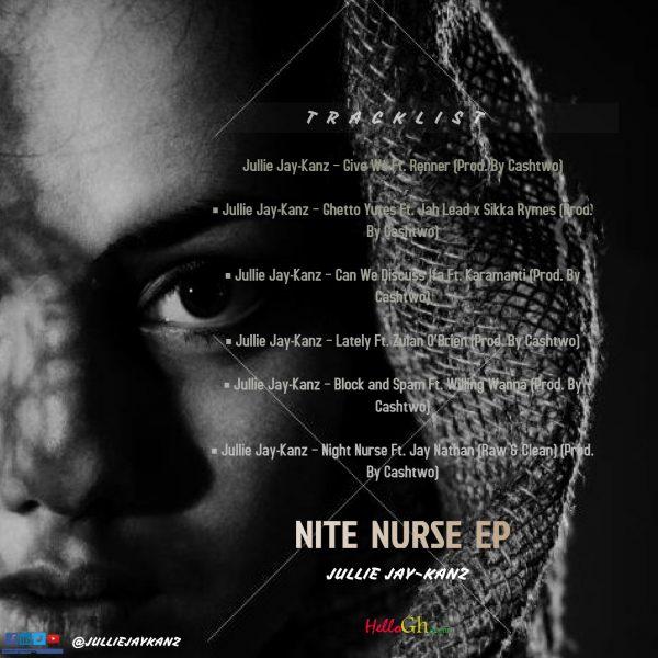 Jullie Jay-Kanz ep tracklist