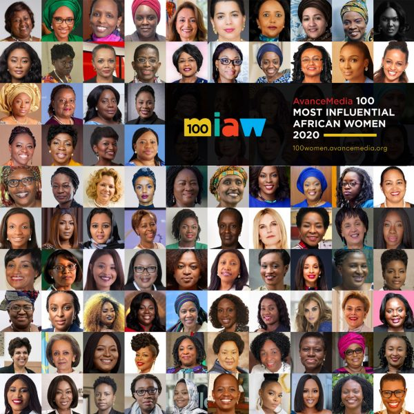 100 Most Influential African Women - Collage 2
