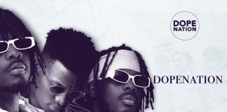 DopeNation - Thank God feat Kinaata (Prod By B2) (GhanaNdwom.net)