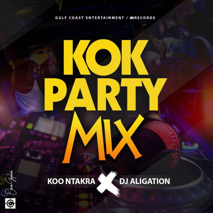 Koo Ntakra x Dj Aligation - KOK Party Mix