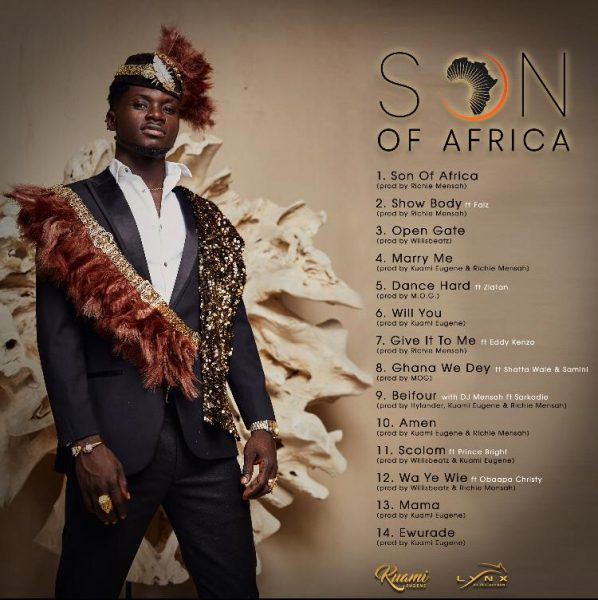 Son of Africa track-list