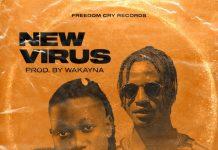 Wakayna - New Virus (Feat. Jlan Oliver) (Prod. by Wakayna) (GhanaNdwom.net)
