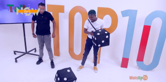 camidoh pranked on WatsUp TV TOP 10 show