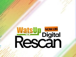 WatsUp TV 24 hours Digital Channel Starts Broadcasting