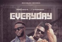 Perez - Everyday - Feat - Strongman Artwork