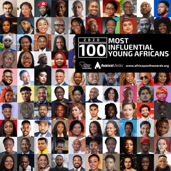 2020 100 Most Influential Young Africans 2