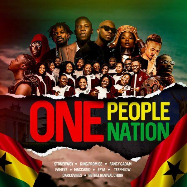 Stonebwoy - One People One Nation (Feat. King Promise, Fancy Gadam, Fameye, Maccasio, Efya, Teephlow, DarkoVibes & Bethel Revival Chior)