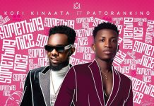 Kofi Kinaata - Something Nice (Feat. Patoranking)