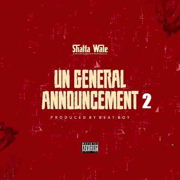 Shatta Wale - UN General Announcement 2 (Samini Diss)