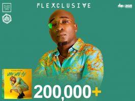 Flexclusive hits 200,00 streams