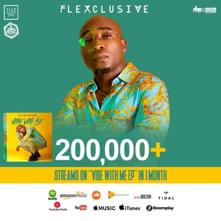 Flexclusive hits 200,00 streams