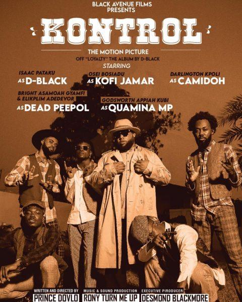 D-Black - Kontrol (Feat. Kofi Jamar, Camidoh, Dead Peepol & Quamina MP) (Official Video)