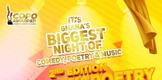 Comedy And Poetry (COPO) Awards Comes Off On 11th September 2021